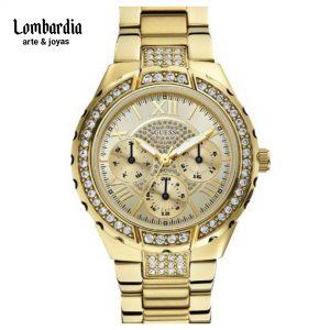 Reloj Guess Dorado Dama