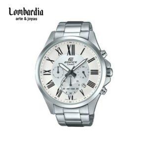 Reloj Casio Edifice Hombre Efv-500d Fondo blanco