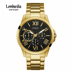 Reloj Guess Dorado W1184g2.